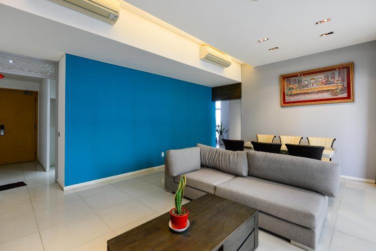 Căn hộ The Estella Residence tầng cao, 3PN, nội thất đầy đủ, view hồ bơi