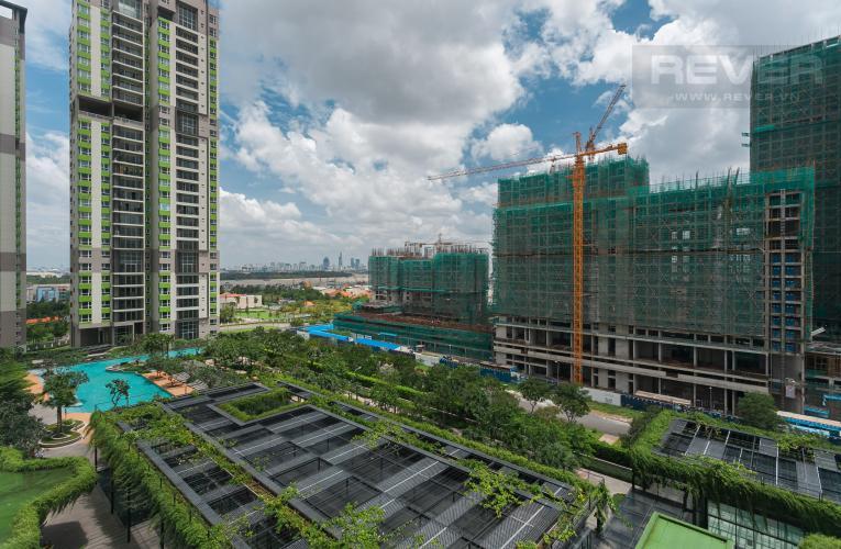View Duplex Vista Verde 2 phòng ngủ, tầng thấp, tháp T1, view hồ bơi