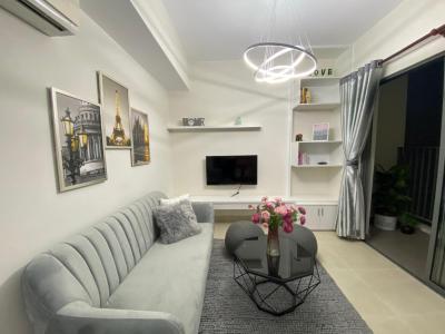Bán căn hộ Masteri Thảo Điền 2PN, tháp T3, đầy đủ nội thất, sổ hồng, view hồ bơi và khu dân cư Thảo Điền