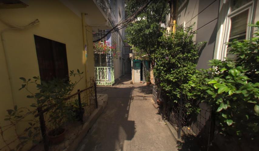 Đường nhà phố Nhà phố hướng Đông Nam diện tích đất 3mx 14m, hẻm xe máy.