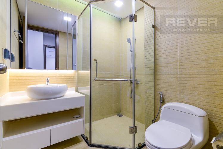 Phòng Tắm 2 Cho thuê căn hộ Vinhomes Central Park 2PN, đầy đủ nội thất, view sông, hướng Đông Nam đón gió