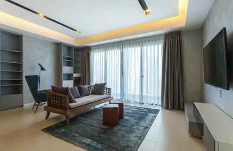 Căn hộ Masteri Thảo Điền 3 phòng ngủ tầng cao T5 đầy đủ nội thất