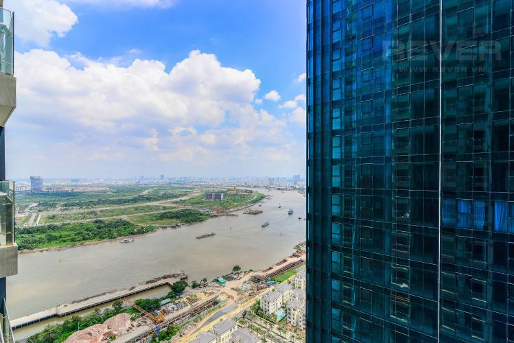 View Officetel Vinhomes Golden River tầng trung, tháp Aqua 1 hướng Tây Nam