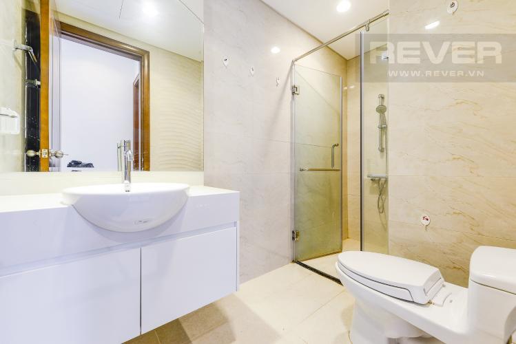 Phòng tắm Officetel Vinhomes Central Park 1 phòng ngủ tầng thấp C3 nhà trống