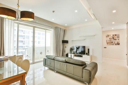 Căn hộ The Estella Residence 2 phòng ngủ tầng thấp 4A nội thất đầy đủ