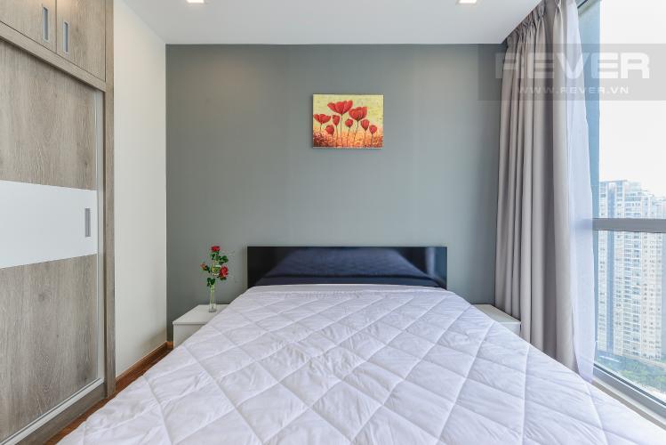 Phòng ngủ 1 Căn hộ Vinhomes Central Park 2 phòng ngủ tầng cao Park 6