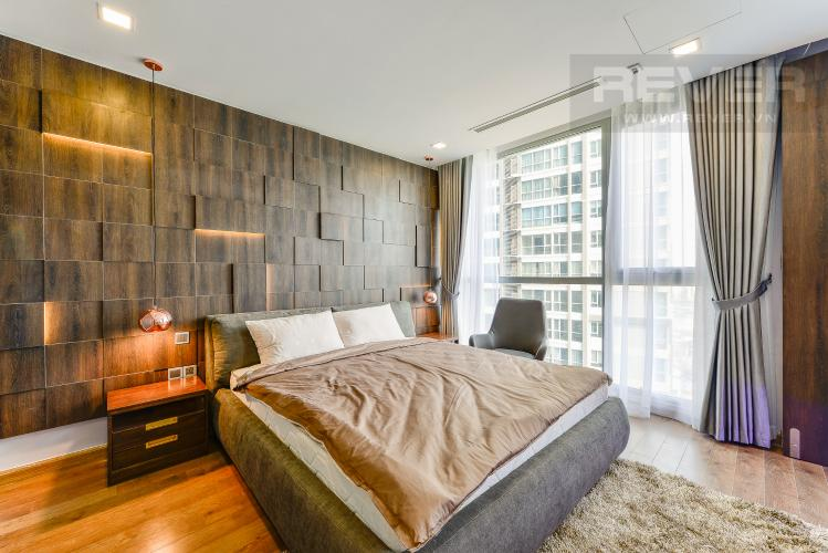 Phòng ngủ 1 Căn hộ Vinhomes Central Park 3 phòng ngủ tầng trung P4 view sông