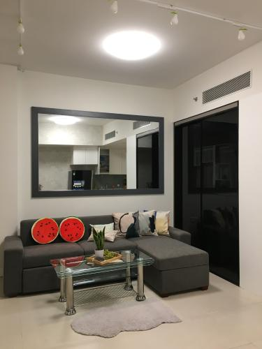 không gian căn hộ Gateway Thảo Điền Căn hộ Gateway Thảo Điền đầy đủ nội thất, view nội khu.