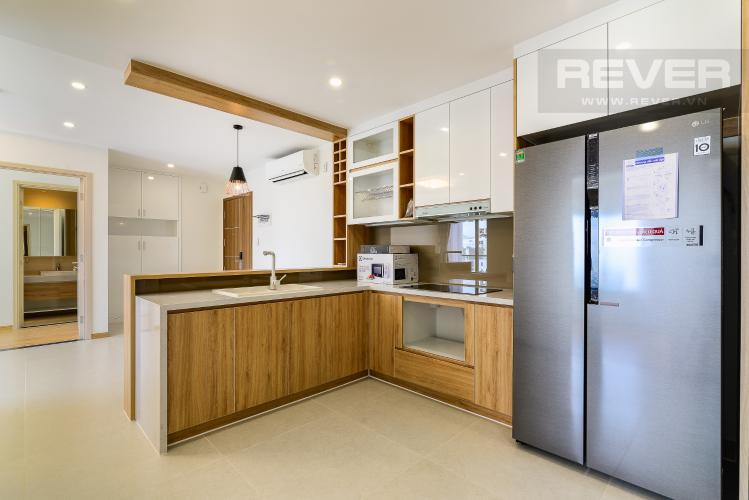 Nhà Bếp Cho thuê căn hộ New City Thủ Thiêm tầng cao, 3PN đầy đủ nội thất, view sông