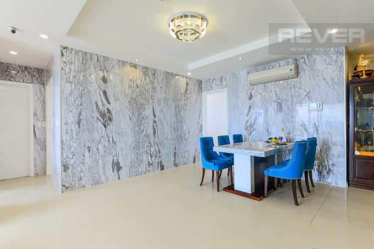 Bàn Ăn Bán căn hộ The Gold View tầng cao, 3PN, đầy đủ nội thất, view đẹp