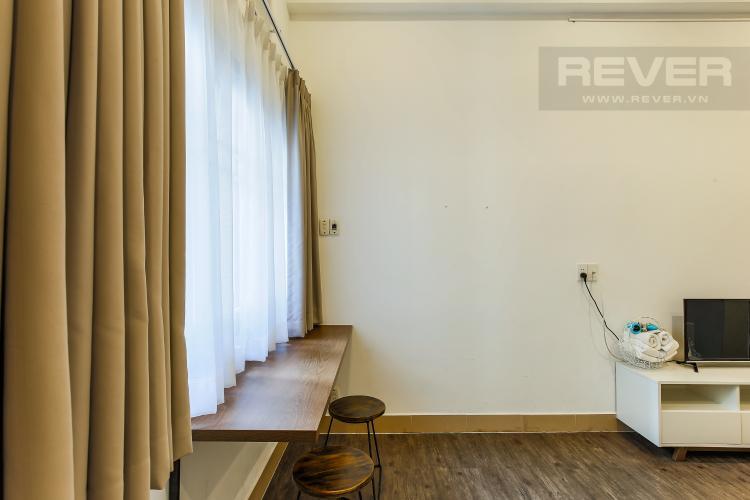 Phòng Khách Căn hộ dịch vụ 1 phòng ngủ Đường Mai Thị Lựu diện tích 36m2