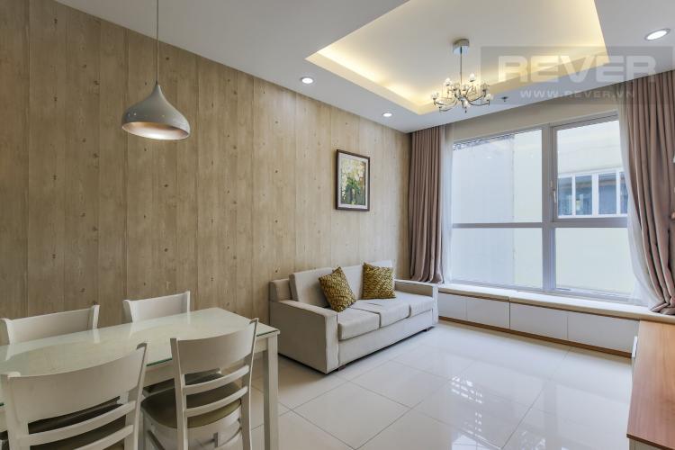 Phòng Khách Bán hoặc cho thuê căn hộ Prince Residence 2PN, tầng thấp, diện tích 70m2, đầy đủ nội thất