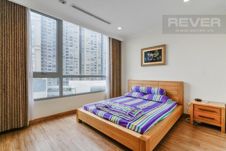 Phòng Ngủ 1 Căn hộ Vinhomes Central Park 2 phòng ngủ tầng thấp C1 view sông