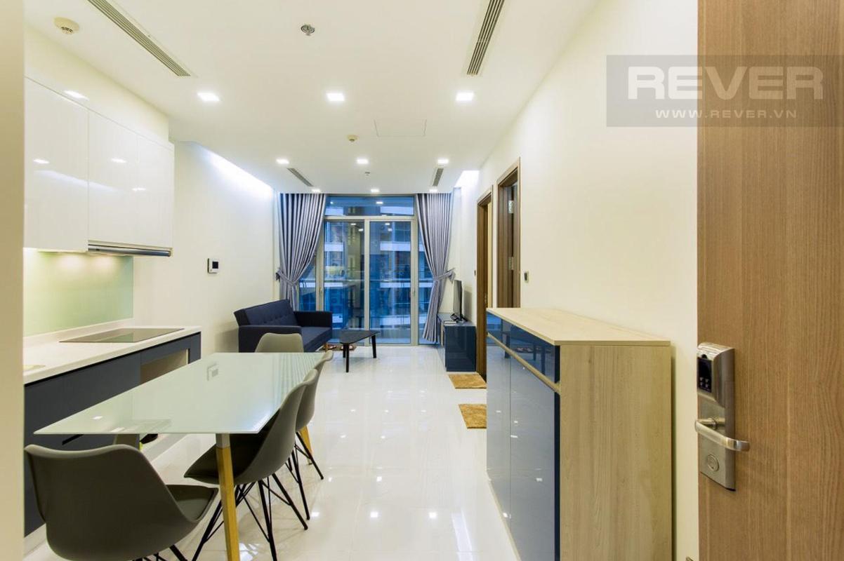 ca97dc3c24b8c2e69ba9 Bán căn hộ Vinhomes Central Park 1PN, tháp Park 7, đầy đủ nội thất, view nội khu yên tĩnh