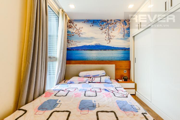 Phòng ngủ 2 Căn hộ Vinhomes Central Park tầng cao, tháp Park 6, 2 phòng ngủ, full nội thất