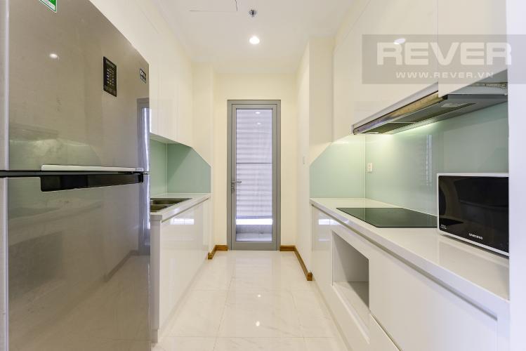 Bếp Căn hộ Vinhomes Central Park tầng thấp tòa Landmark 3, 2 phòng ngủ, full nội thất