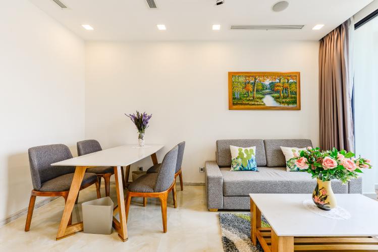 Officetel Vinhomes Golden River 2 phòng ngủ tầng trung A3 view sông