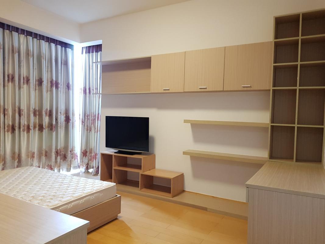 Phòng ngủ Master Bán hoặc cho thuê căn hộ The Vista An Phú 3PN, diện tích 140m2, đầy đủ nội thất, view Xa lộ Hà Nội