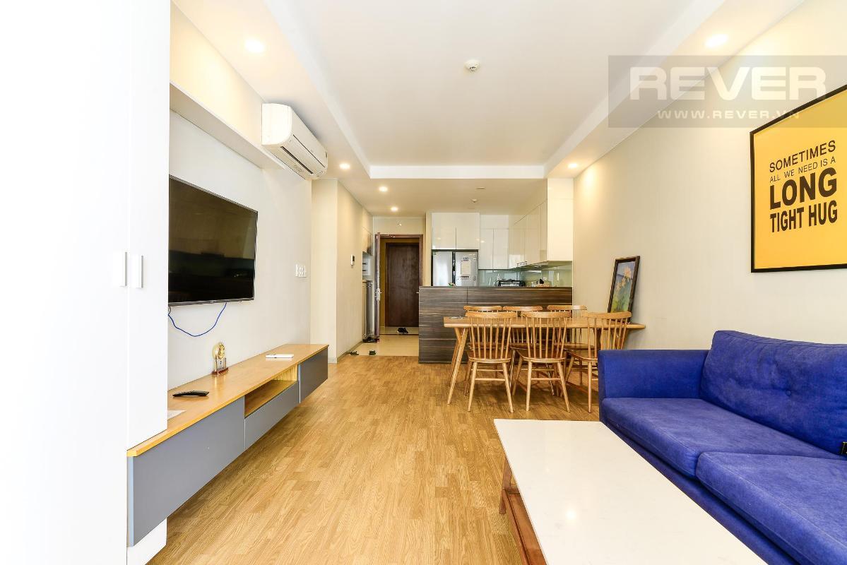 1 Bán hoặc cho thuê căn hộ The Gold View 2PN, tầng thấp, diện tích 82m2, đầy đủ nội thất