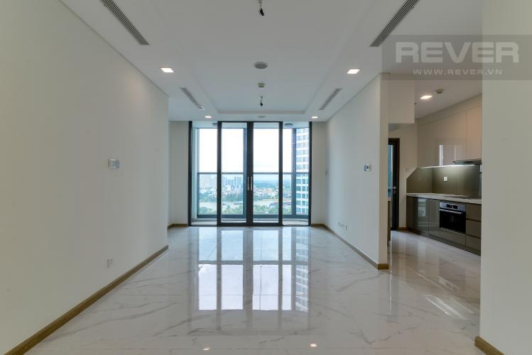 Phòng Khách Bán hoặc cho thuê căn hộ Vinhomes Central Park 3PN, tháp Landmark 81, view sông và công viên