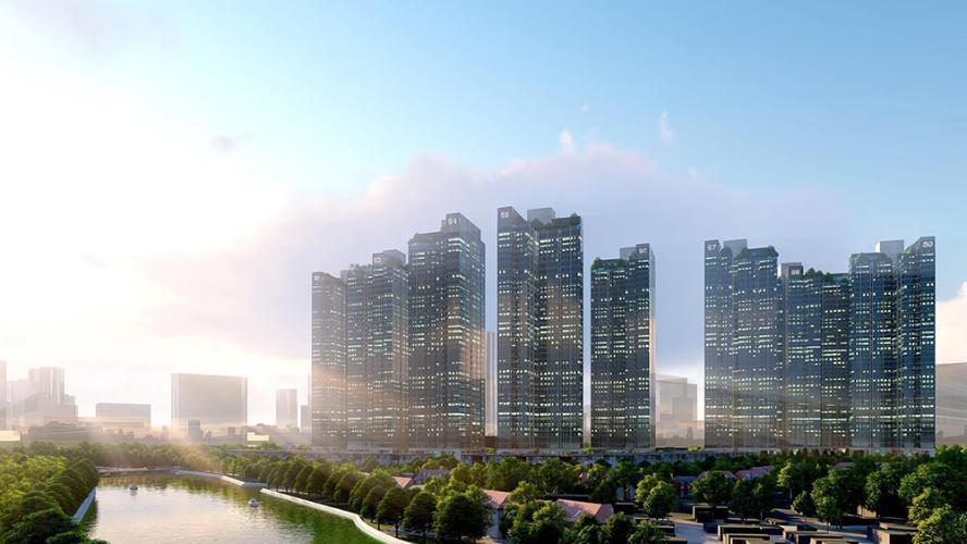 Bán căn hộ Office-tel Sunshine City Sài Gòn thuộc tầng thấp,  2 phòng ngủ, diện tích 70m2, nội thất cơ bản