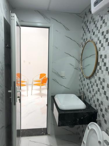 phòng vệ sinh căn hộ midtown Căn hộ Shophouse Phú Mỹ Hưng Midtown diện tích 41.51m2