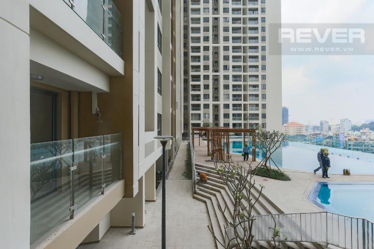 View Căn hộ The Gold View 1 phòng ngủ tầng thấp A3 view hồ bơi