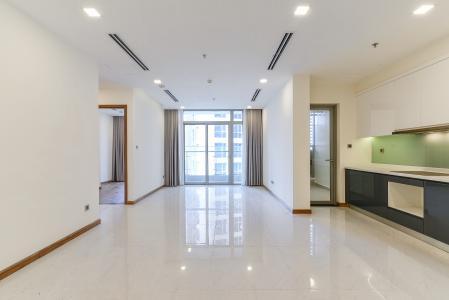 Căn hộ Vinhomes Central Park 3 phòng ngủ tầng thấp P1 nhà trống