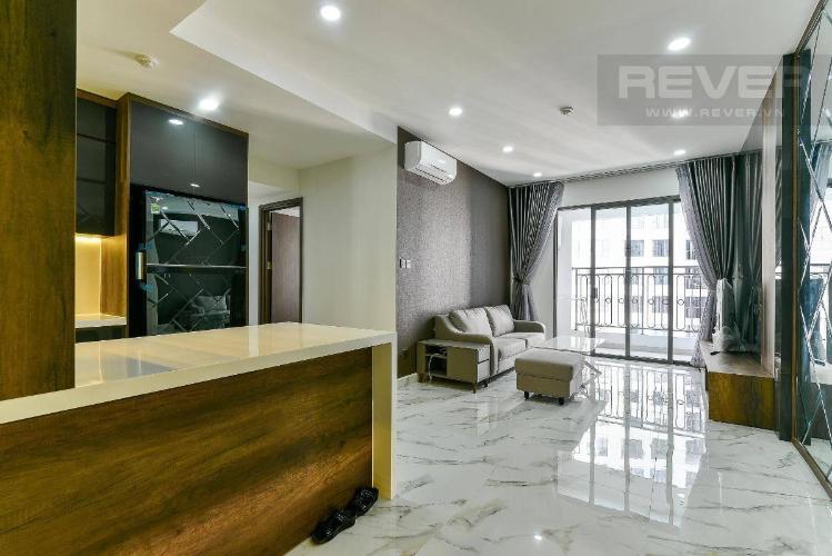 Bán căn hộ Saigon Royal 2 phòng ngủ tháp A, đầy đủ nội thất cao cấp, view nội khu mát mẻ
