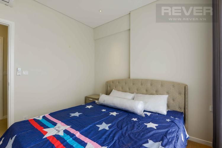 Phòng Ngủ 2 Cho thuê căn hộ Diamond Island - Đảo Kim Cương 1PN, tháp Canary, đầy đủ nội thất, view nội khu xanh mát