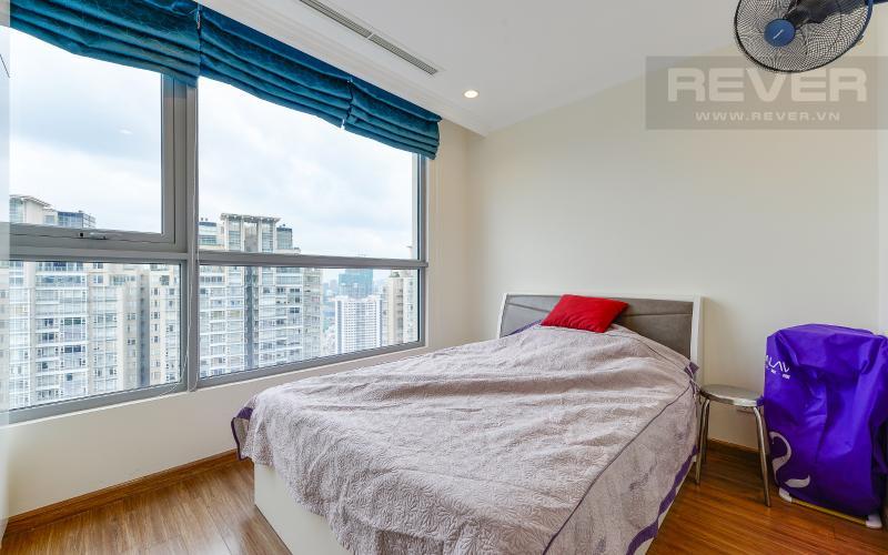 phòng ngủ 2 Căn góc Vinhomes Central Park tầng cao C2 full nội thất, view sông