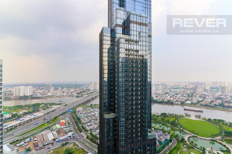 View Bán căn hộ Vinhomes Central Park 3PN, tầng cao, tháp Landmark 3, đầy đủ nội thất, view công viên và sông Sài Gòn