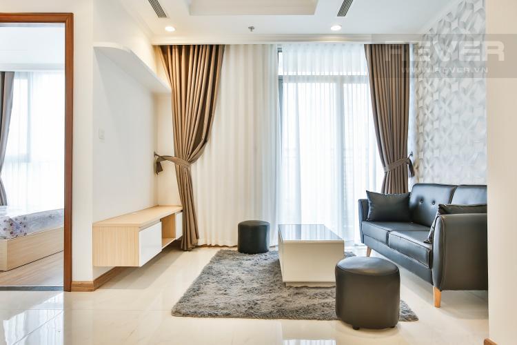 Phòng Khách Căn hộ Vinhomes Central Park trung tầng Central 3 thiết kế đẹp