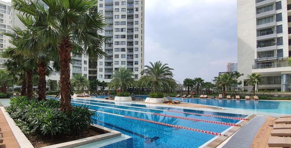 Tiện ích căn hộ Đảo Kim Cương Căn hộ Đảo Kim Cương tháp Hawaii, view thành phố ban công rộng rãi.