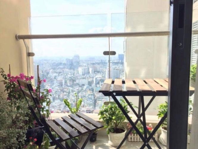 can-ho-THE-GOLD-VIEW Cho thuê căn hộ The Gold View 2PN, diện tích 92m2, đầy đủ nội thất, view thông thoáng