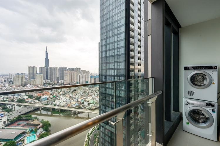 View Cho thuê căn hộ Vinhomes Golden River 3PN 2WC, đầy đủ nội thất, view thành phố