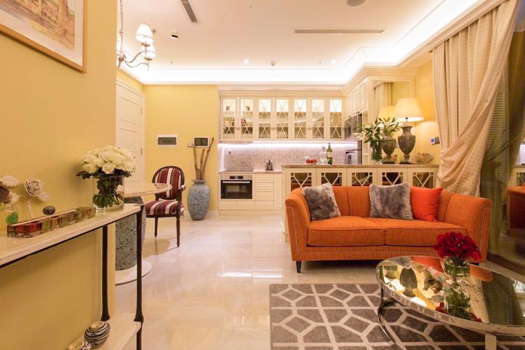 Bán căn hộ Vinhomes Golden River 2PN, tháp The Aqua 3, đầy đủ nội thất, hướng Đông Nam, view mé sông