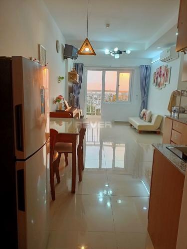 Phòng bếp căn hộ Moscow Tower, Quận 12 Căn hộ tầng 16 chung cư Moscow Tower đầy đủ nội thất, view thành phố.