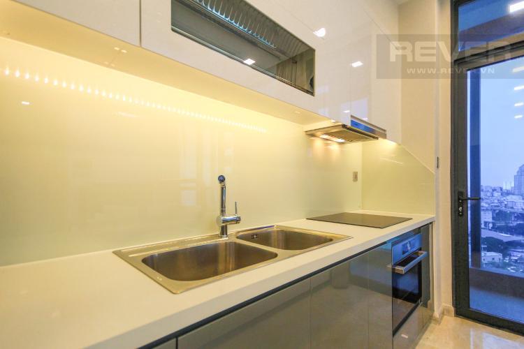 Nhà Bếp Cho thuê căn hộ Vinhomes Golden River 2PN, đầy đủ nội thất, view sông Sài Gòn và Landmark 81