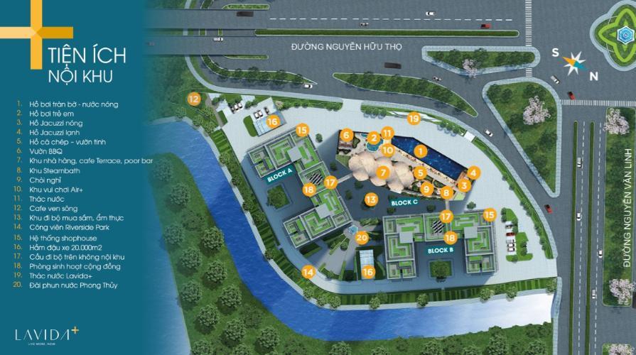 tiện ích xung quanhg Lavida Plus Office-tel Lavida Plus bàn giao thô, view nhìn ra thành phố.