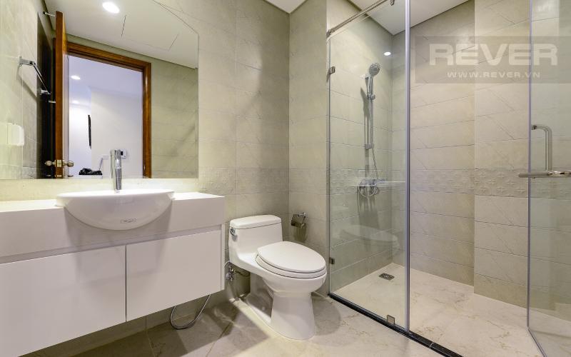 phòng tắm 2 Căn góc Vinhomes Central Park tầng cao Central 3 đầy đủ tiện nghi