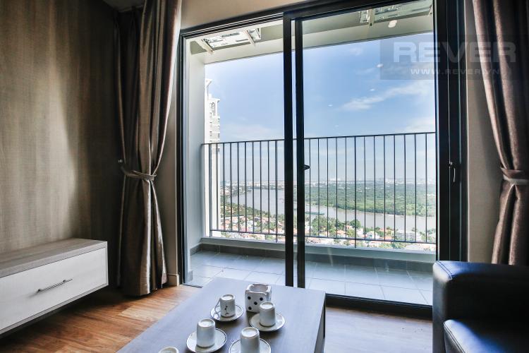 Phòng Khách Căn hộ Masteri Thảo Điền 3 phòng ngủ tầng cao T5 view trực diện sông