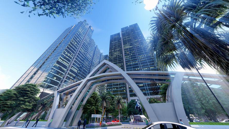 Căn hộ tầng 21 Sunshine City Sài Gòn view Phú Mỹ Hưng cực đẹp