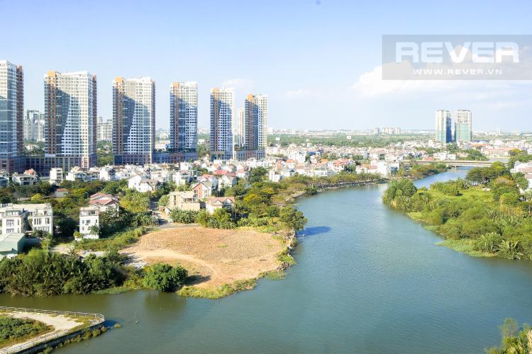 View Cho thuê căn hộ Diamond Island 3PN 2WC, đầy đủ nội thất, view sông