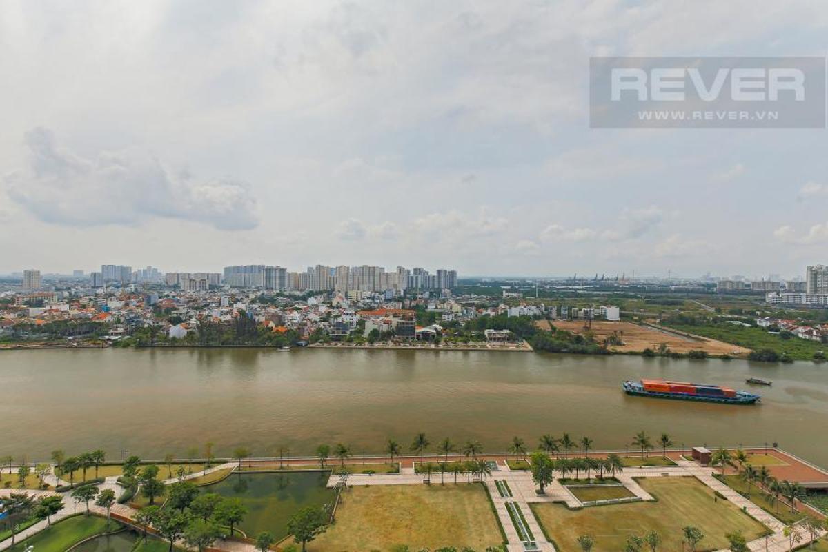 5ba08043744e9310ca5f Bán căn hộ Vinhomes Central Park 4PN, tháp Landmark 81, đầy đủ nội thất, view công viên và sông Sài Gòn