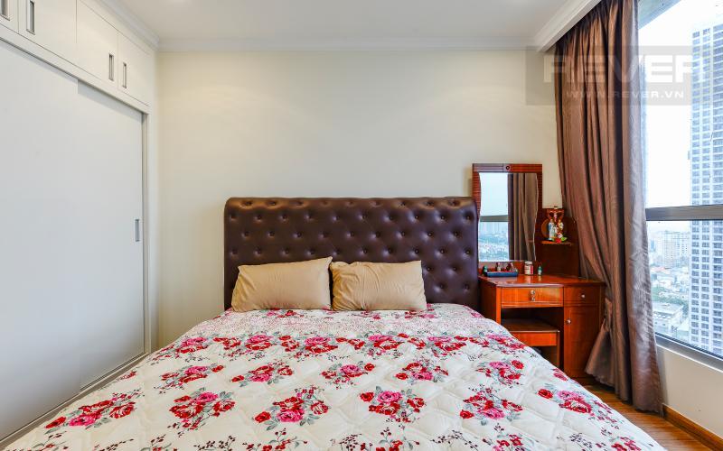 Phòng ngủ 1 Căn hộ Vinhomes Central Park 3 phòng ngủ tầng cao L1 nội thất đầy đủ