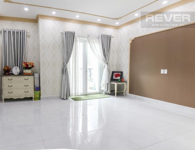 Phòng Ngủ Bán hoặc cho thuê nhà phố 2 tầng, khu biệt thự compound Mega Village Quận 9, diện tích đất 75m2, đầy đủ nội thất
