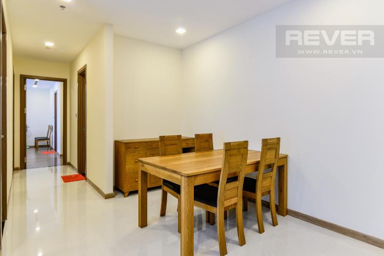 Phòng Ăn Căn hộ Vinhomes Central Park 3 phòng ngủ tầng cao P3 đầy đủ tiện nghi