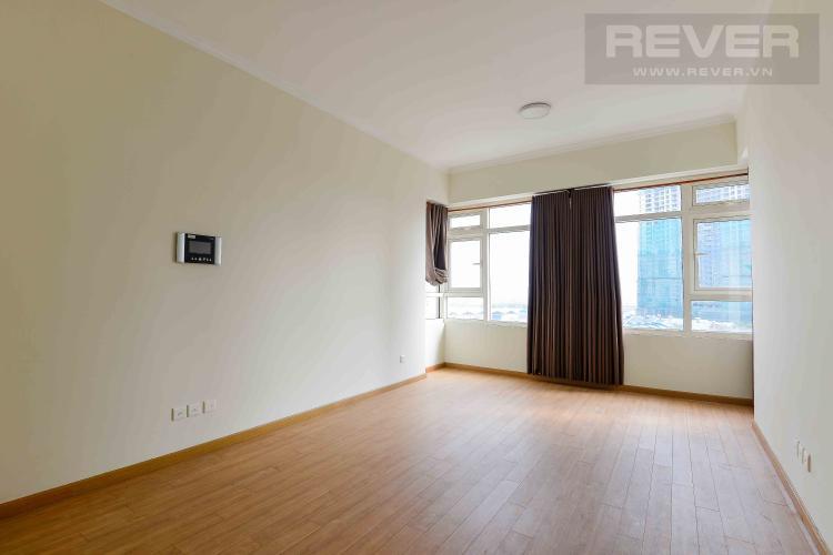Phòng Ngủ 2 Cho thuê căn hộ Saigon Pearl tầng thấp, 2PN 2WC, hướng Nam thoáng mát