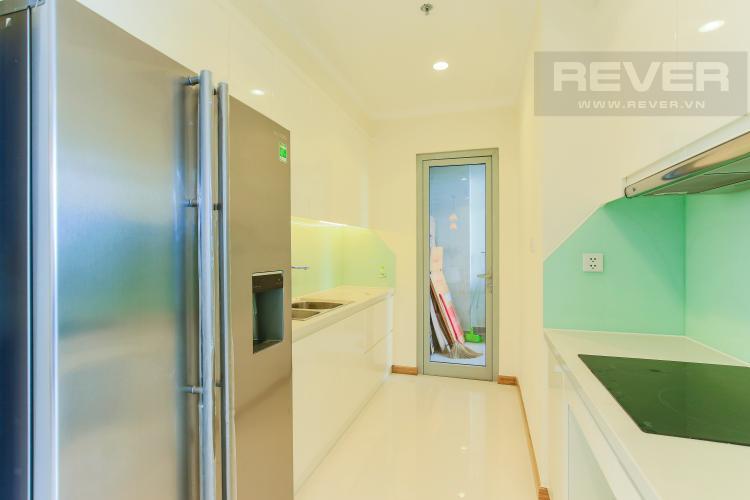 Phòng Bếp Căn hộ Vinhomes Central Park tầng cao L3, 3 phòng ngủ, nội thất đầy đủ
